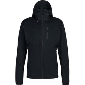 Mammut Ultimate VI SO Hooded Jacket Men, black